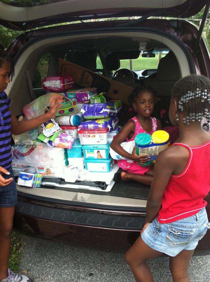 Donating To Help homeless children